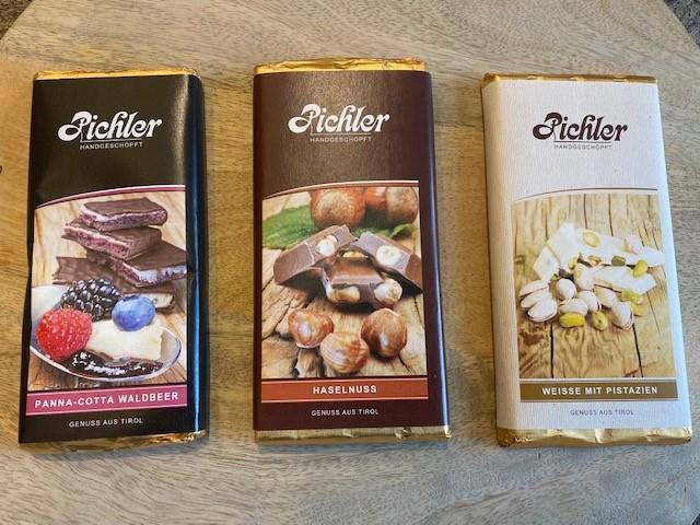 Farben Millinger Schokolade Pichler